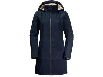 Windy Valley Coat W  Softshell Mantel Parka Damen