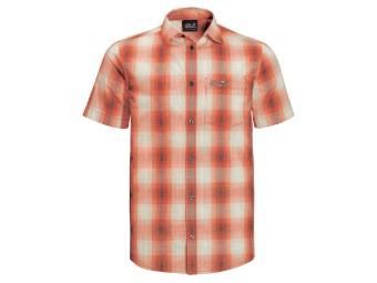 Hot Chili Shirt M Herren Kurzarm Hemd