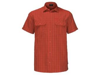 Thompson Shirt Men Kurzarm Hemd Herren Freizeit wandern