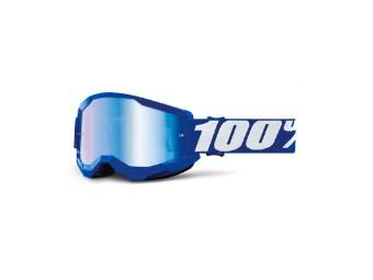 Strata 2 Extra Crossbrille Endruro MX verspiegelte Scheibe