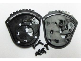 Visiermechanik SR1, Grundplatten + Schrauben