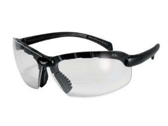 C 200 Bifocal 1,5 dpt klar Motorradbrille mit Lesestärke