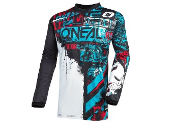 Element Jersey Ride Crossshirt MX Enduro Quad Shirt