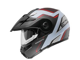 E1 Enduro Klapphelm Motorrad Helm