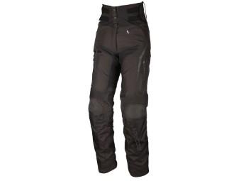 Elaya Lady Damen Motorradhose Textil Touringhose Kurzgröße