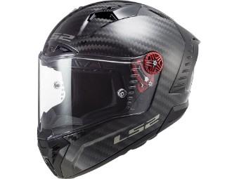 FF805 Thunder Solid Carbon Sporthelm Rennsport Motorrad Integral