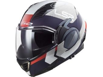 FF900 Valliant 2 Cituius Klapphelm Modulhelm Helm Motorrad