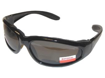 Hercules Plus Bifocal Bikerbrille mit Lesestärke +1,5 +2,0 dpt