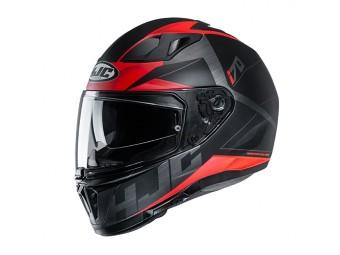 i70 Eluma MC1SF Integralhelm mit Sonnenblende Motorrad Helm