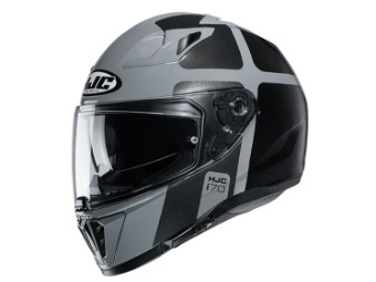i70 Prika MC5 Integralhelm mit Sonnenblende Motorrad Helm