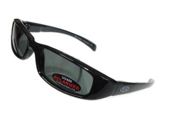 Largo schmale Sonnenbrille Bikerbrille polarisierende Gläser