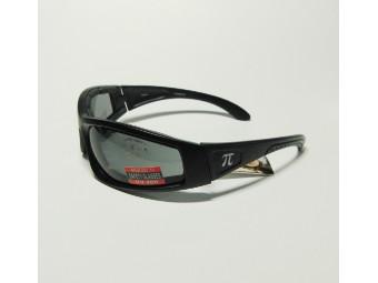 PiWear Milano Bikerbrille Sonnenbrille mit Polster