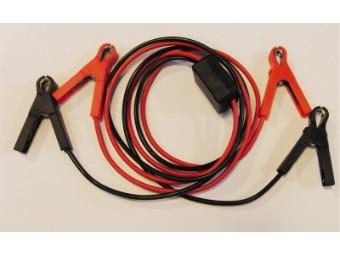 Motorrad Starthilfe Kabel 1,6m mit extra kleinen Zangen
