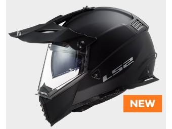 MX 436 Pioneer Evo Solid Motorrad Helm Endurohelm mit Sonnenblende NEU 2020