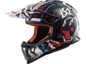 MX437 Fast Beast Crosshelm MX Helm