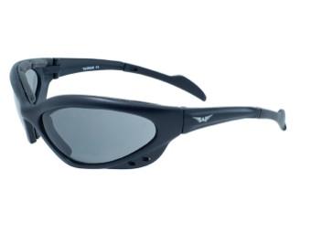 Neptune Bikerbrille mit Polsterung