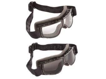 Nevada Motorradbrille Überbrille Retrobrille mit Brillenband