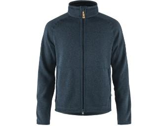 Övik Fleece Zip Sweater Fleecejacke Herren