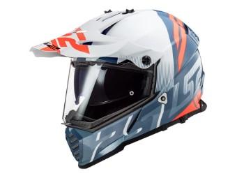 MX 436 Pioneer Evo Evolve Motorrad Helm Endurohelm mit Sonnenblende NEU 2020
