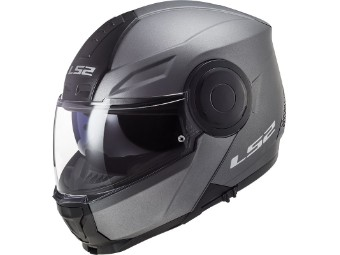 FF902 Scope Solid  Motorrad Klapphelm mit Sonnenblende