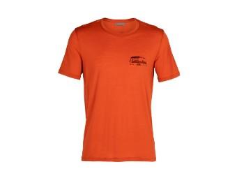 Tech Lite Short Sleeve Crewe Caravan Life T-Shirt Funktionsshirt