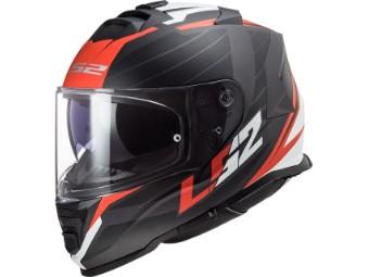 FF800 Storm Nerve Integralhelm Motorradhelm mit Sonnenblende