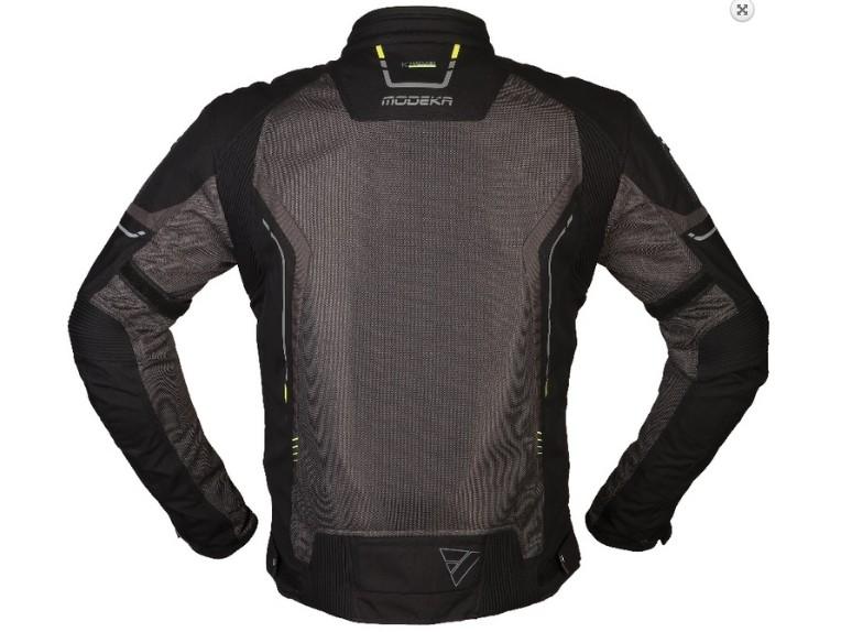 khao air schwarz grau back