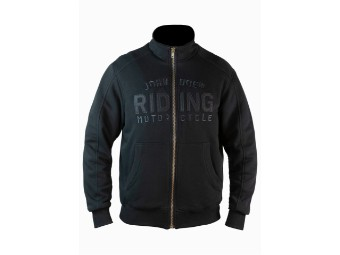 Mens Stand Up Neck Riding Hoodie