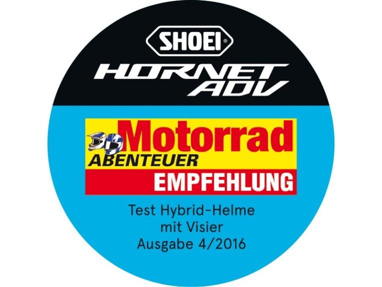 Hornet-in-Motorrad-Abenteuer