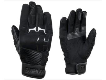 Handschuh California Schwarz Motorradhandschuh CE leicht