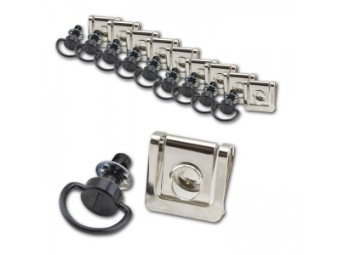 Schnellverschluss schwarz 10 Stück für Motorrad Verkleidung