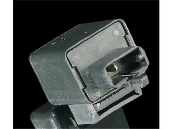Blinkrelais, 2polig, 12 Volt, elektronisch, auch für Motorräder mit 3poligen Stecker