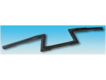 FEHLING-Z-Lenker LOW, 1 1/4 Zoll, H 12 cm, 3 Loch, sw
