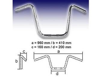 Lenker FEHLING - APE Hanger High 1 Zoll, 400mm