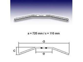 - Drag Bar 72cm 1 Zoll