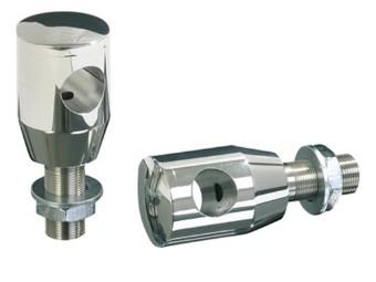 Alu-Riser, poliert, 40 mm, mit KDF