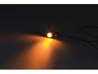 LED-Blinker Bullet Atto, klares Glas