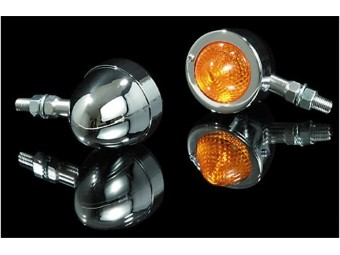 Bullet Blinker PIKE, verchromtes Metall, E-gepr.