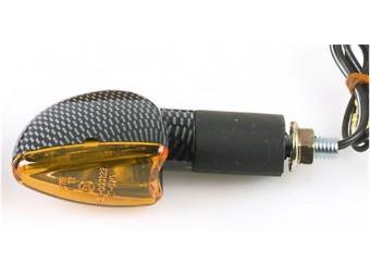 Blinker ARROW, Carbonlook, lang, E-gepr., Paar
