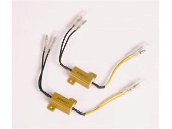 Leistungswiderstand 25 W- 6, 8 Ohm mit Kabel, Paar