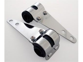 Hauptscheinwerfer Uni-Lampenhalter, verchromt, 30-38