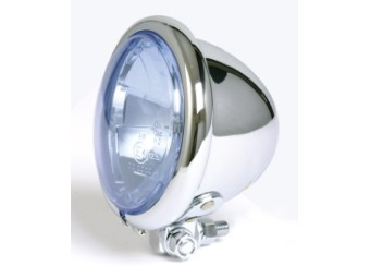 """4-1/2"""" Fernscheinwerfer, Bates-Style, blaues Glas"""