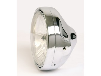 LTD-Chromscheinwerfer, H4, Klarglas,