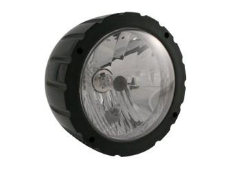 ABS Scheinwerfer, schwarz, 12V 35/35 W, E-gepr.