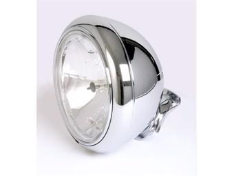 7 Zoll Harley Chromscheinwerfer, klares Glas