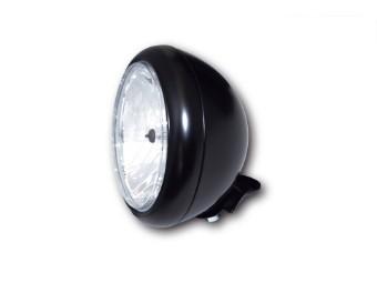 7 Zoll HD-STYLE Scheinwerfer, schwarz, klares Glas