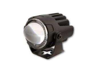 LED Abblendscheinwerfer FT13- LOW schwarz E-geprüft