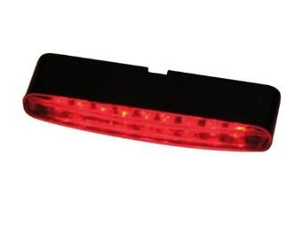 LED-Rücklicht STRIPE, rotes Glas