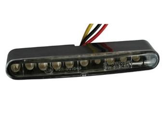 LED-Ruecklicht STRIPE, transparent, E-gepr.