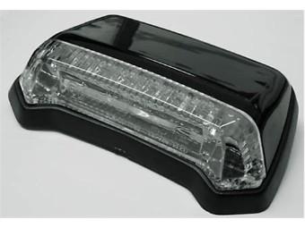 LED-Rücklicht für Fender, schwarz, Klarglas, E-gepr.